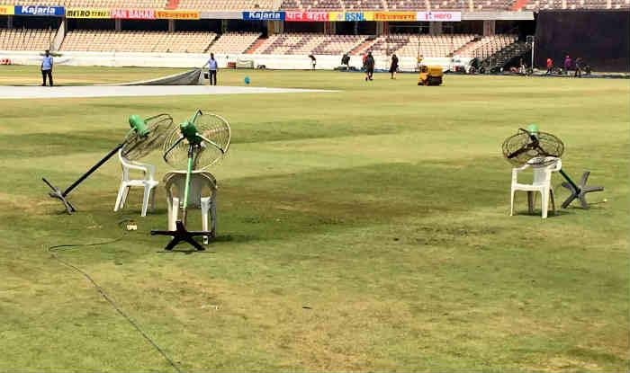 हैदराबाद टी20 पर छाया बारिश का खतरा (Twitter)