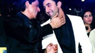 Shah Rukh Khan And Ranbir Kapoor's Version Of Bole Chudiyan At Aamir Khan's Diwali Bash Cannot Be Missed