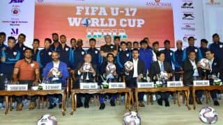 Never Give up, Play Strong: Rajyavardhan Rathore's Message to India U-17 Football Team