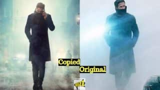Saaho First Look Copied From Blade Runner 2049? Prabhas' Attire in Poster Identical to Ryan Gosling's Intimidating Look