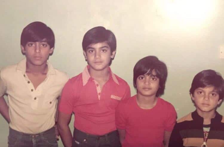 This Salman Khan Throwback Picture With Arbaaz Khan, Arpita Khan And Sohail  Khan Will Make You Want To Dig Up Your Childhood Albums | India.com