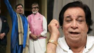 Shatrughan Sinha Copies Amitabh Bachchan While Wishing Kader Khan, Gets Trolled!