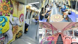 Singapore Celebrates Diwali 2017 In Style, Brings Diwali-Themed Buses And Trains Again