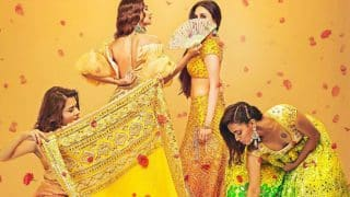 Swara Bhaskar Dazzles in a Gorgeous Lehenga in The New Poster of her Upcoming Movie Veere Di Wedding