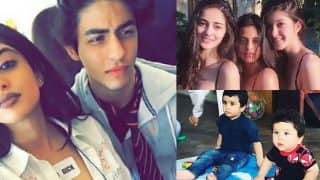 Taimur Ali Khan-Laksshya Kapoor, Aryan Khan-Navya Naveli Nanda, Take A Look At Bollywood's Star Kids And Their BFFs