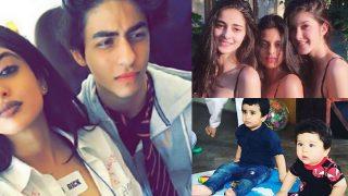Taimur Ali Khan-Laksshya Kapoor, Aryan Khan-Navya Naveli Nanda, Take A Look At Bollywood's Star Kids And Their BFFs