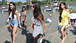 Shah Rukh Khan, Gauri Khan, AbRam Spotted At The Gateway Of India, But Suhana Khan And Her Girl Gang Steal The Show - View Pics