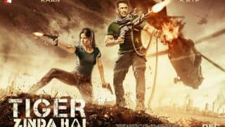 Tiger Zinda Hai New Poster: Salman Khan And Katrina Kaif's Action Avatar Will Instantly Remind You Of Hrithik Roshan's Bang Bang