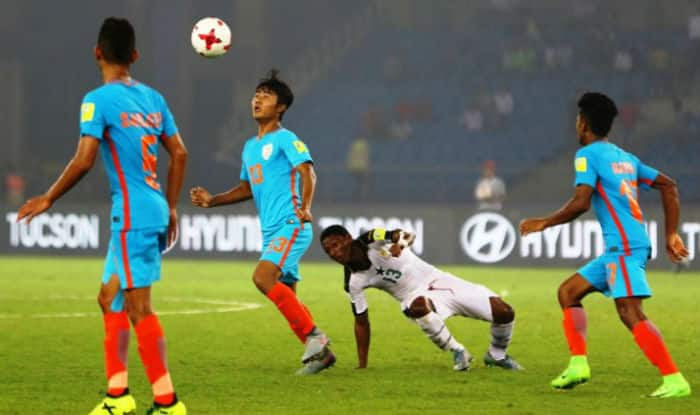 Indian's under-17 Football Team in action. (Twitter)