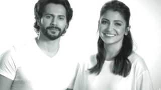 Sui Dhaga Co-Stars Varun Dhawan And Anushka Sharma Pay Tribute To Mahatma Gandhi - Watch Video