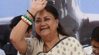 PM Narendra Modi, Senior Leaders Wish Vasundhara Raje on Her Birthday