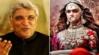 Javed Akhtar On Padmavati Controversy: Rajputs Never Fought Against The British And Now They Are Taking To The Streets Against A Film!