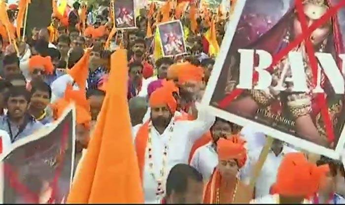 Padmavati protest in Bengaluru