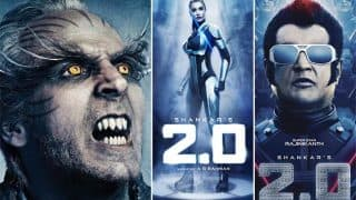 Rajinikanth's 2.0 Getting Ready To Clash With Akshay Kumar's Gold Or Aamir Khan's Thugs Of Hindostan?