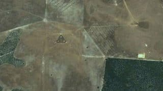 Triangular UFO with Bright Lights Spotted on Google Earth and Google Maps, are the Aliens Really out There?