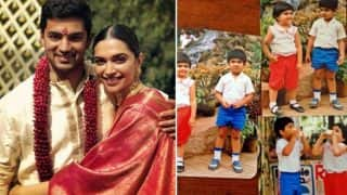 Deepika Padukone Shared A Major Throwback Picture Collage On Her Best Friend, Aditya Narayan's Wedding Day And We Can't Get Over Their Cuteness!