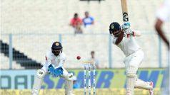 IND vs SL, पहला टेस्ट @ कोलकाताः भारत को चौथा झटका, अजिंक्य रहाणे बिना खाता खोले लौटे