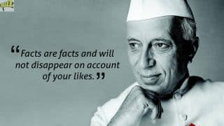 Best Quotes by Jawaharlal Nehru on His 128th Birth Anniversary