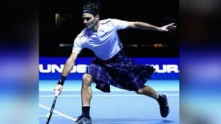 Roger Federer in a Kilt And Andy Murray in a Tartan Hat With a Ginger Wig Made Fans Rejoice