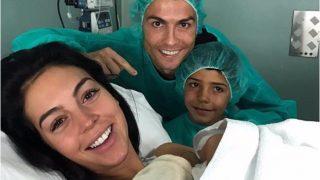 चौथी बार पिता बने स्टार फुटबॉलर क्रिस्टियानो रोनाल्डो, ट्विटर पर शेयर की फोटो