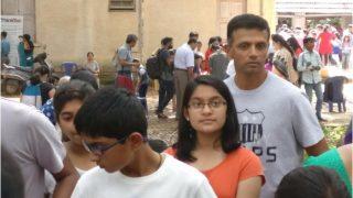 ना कोई दिखावा, ना एटिट्यूड, बच्चों के साथ लाइन में खड़े राहुल द्रविड़ की फोटो वायरल