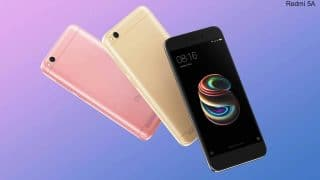Xiaomi Redmi 5A Offer: Reliance Jio Lures Users With Rs 1000 Cashback on 'Desh Ka Smartphone'