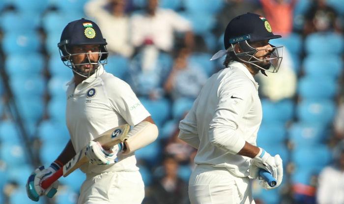 India 312-2 at close, lead Sri Lanka by 107 runs