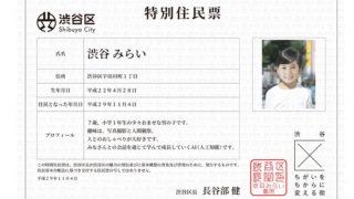 Artificial Intelligence Boy Shibuya Mirai Gets Residential Certificate in Tokyo, Japan