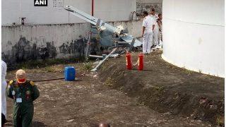 भारतीय नौसेना का मानव रहित विमान कोच्चि में हादसे का शिकार