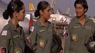 IAF's First Women Fighters Bhawana Kanth, Avani Chaturvedi And Mohana Singh Undergoing Final Training at Kalaikunda