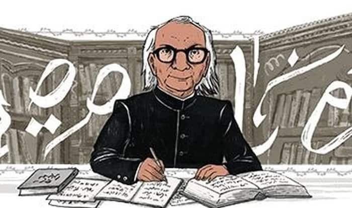 Google Doodle commemorates 87th birthday of Urdu author Abdul Qavi Desnavi