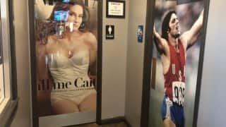 Caitlyn and Bruce Jenner's Pictures On Texas Restuarant To Signal Women And Men's Washroom Sparks Outrage On Social Media