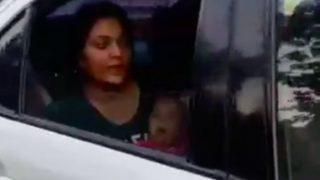 वीडियो: मुंबई ट्रैफिक पुलिस की शर्मनाक हरकत, बच्चे को दूध पिलाती महिला को कार सहित उठाया