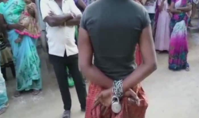 Telangana: 25-year-old girl chained by family