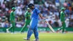 Sanjay Manjrekar Questions MS Dhoni's Place in Team India