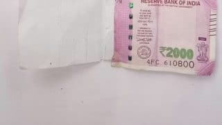 Fake Rs 2000 Note Dispensed by ATM in Delhi's Shaheen Bagh, Claims Man; FIR Registered