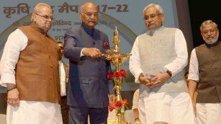 President Ram Nath Kovind Launches Bihar Krishi Road Map 2017-2022 in Patna