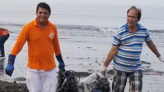 Versova Beach Clean-up Activist Afroz Shah Meets Devendra Fadnavis, Maharashtra CM Assures Measures to Stop Heckling of Volunteers