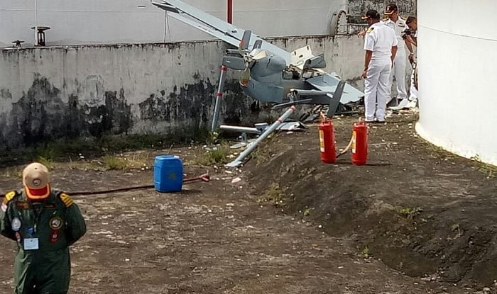Navy's Remotely Piloted Aircraft Crashes During Take-off in Kochi