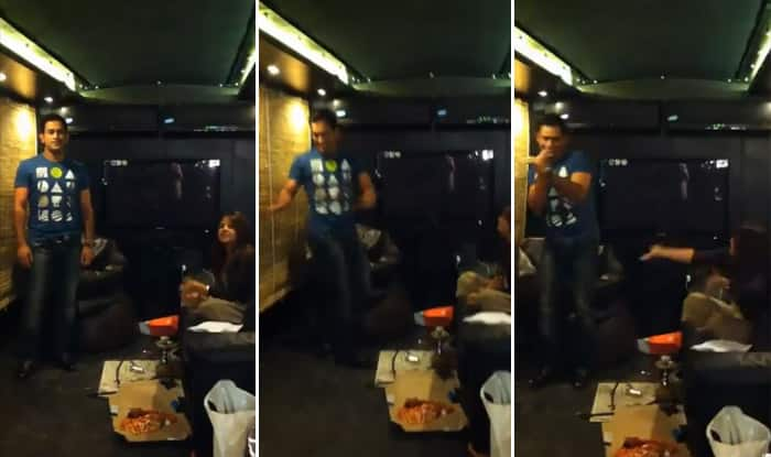 MS Dhoni Shows Off His Dancing Skills, Wife Sakshi Rolls Around Laughing in this Video