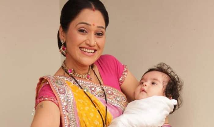 Image result for disha vakani with kid, india.com