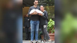 Esha Deol Gives A Glimpse Of Her Daughter Radhya As She Turns A Month Old - View Pic