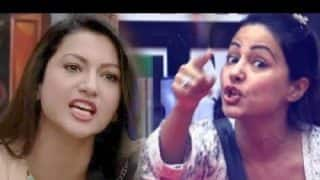 Bigg Boss 11 : Gauahar Khan Gives It Back To Hina Khan For Comments On Fan Following And Sakshi Tanwar
