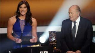 US Goalkeeper Hope Solo Accuses Former FIFA President Sepp Blatter of Sexual Harassment