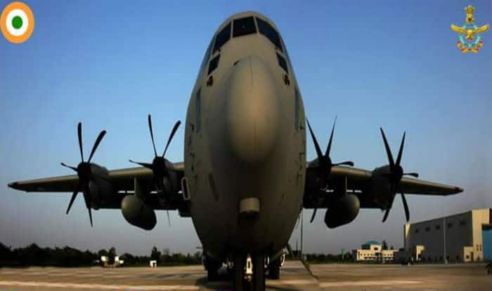 Indian Air Force Plane C 130j Hercules Sets New World Record