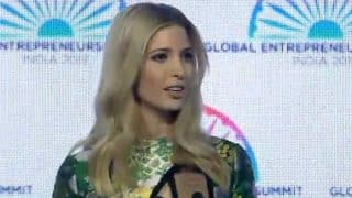 Ivanka Trump Praises PM Narendra Modi at Global Entrepreneurship Summit, Says People of India Inspire All