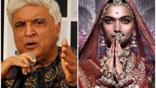 Padmavati Controversy: FIR Filed Against Javed Akhtar For His Remarks Against The Rajputs