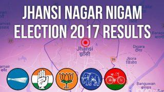 Jhansi Nagar Nigam Election 2017 Results News Updates: BJP's Ramteerth Singhal Wins Mayoral Post