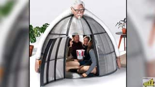 KFC launches Internet Escape Pods at $10,000 to Help You Enjoy Your Chicken Better