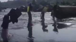 Students Forced to Cross River to Reach School in Odisha's Mayurbhanj district (Video)